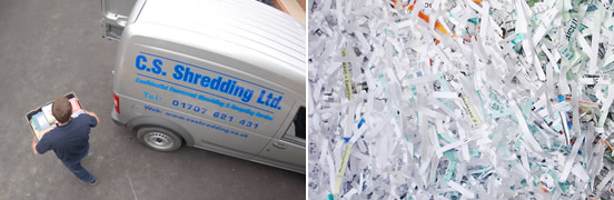 Commercial Shredding Services Across The South East